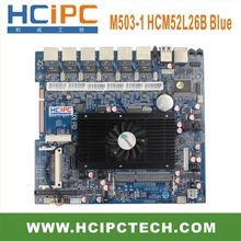 HCIPC M503-1 LAN-HCM52L26B,Multi lan AtomD525 6LAN Motherboard,Mini ITX Motherboard,Firewall motherboard,Firewall Server,Router(China)