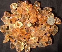 Brazilian Golden Citrine Rough Lot 250 cts AAA Facet Grade Eye Clear Cabochon