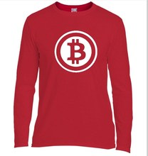 Buy Two Step New Bitcoin Cryptograrhy Trust T Shirt Men Casual Dress Brand Clothing Print Bitcoin Long Sleeve for $7.66 in AliExpress store