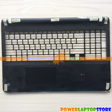 New For SONY VAIO SVF15 SVF152 SVF153 Keyboard Upper Cover Case Touchpad BLACK