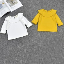China Spring Autumn Kids Clothes Blouse For Baby Girls Long Sleeve Cotton T shirts Top For Baby Girl