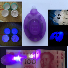 365nm High energy mini UV lamp led ultraviolet light for fluorescer money currency detector fluorescent agent checker
