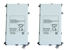 "Cisoar 2pcs/lot 4800mAh T4800E Replacement Battery For Samsung Galaxy Tab Tablet Pro 8.4 8.4"" T320 T321 T325 SM-T320 SM-T321"