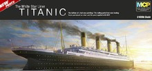MOHS 14215 ACADEMY 1/400 The Titanic ship model luxury cruise ship Assembly Model kits Modle building scale model(China)