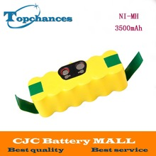 Newest 14.4V 3500mAh Ni-MH Battery for iRobot Roomba Vacuum Cleaner for 500 560 530 510 562 550 570 610 650 790 780 532 760 770(China)