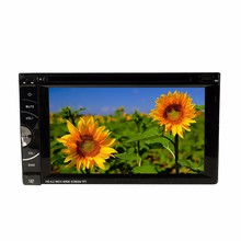 2 Din 6.2 Inch Car Multimedia Players DVD Player Audio Video For All Cars With USB/SD/DISC/MP4/DIVX/DVD/VCD SH6282(China)
