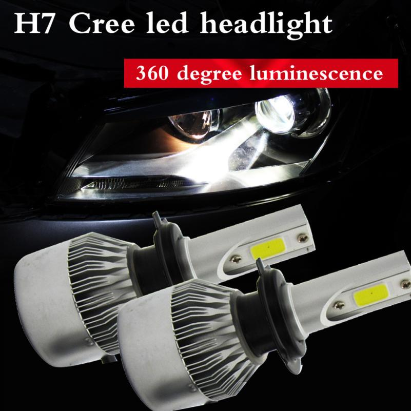 HOT SALE Car styling H7 110W 20000LM LED Headlight Conversion Kit Car Beam Bulb Driving Lamp 6000K just for you Vicky<br><br>Aliexpress