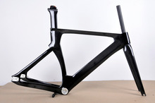 100% full carbon track bicycle frameset high-end carbon track frames Chinese cheap track bike frame 49cm size for women