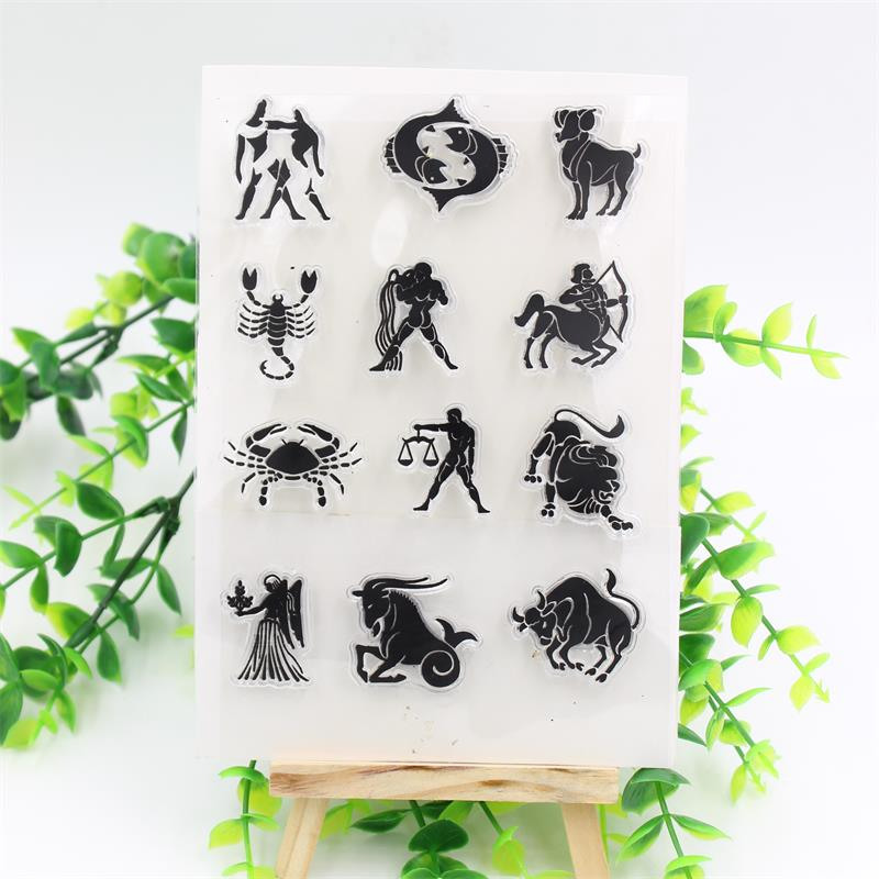 Humans And Animals Transparent Clear Silicone Stamps for DIY Scrapbooking/Card Making/Kids Christmas Fun Decoration Supplies<br><br>Aliexpress