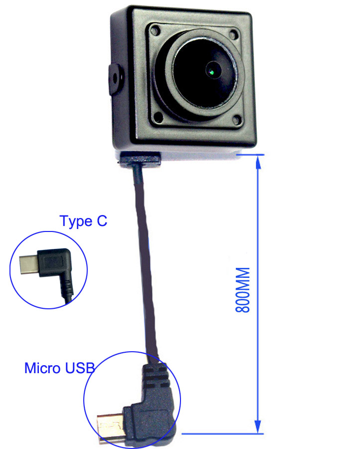 Wearable On Clip 3.0MP External camera for USB OTG Compatible Android Smartphones<br>