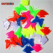 OUTERDO 1 bag Assorted Colorful Plastic Clip Kids Bike MTB Mountain Road Cycling Bike Bicycle Wheel Spoke Beads Decor