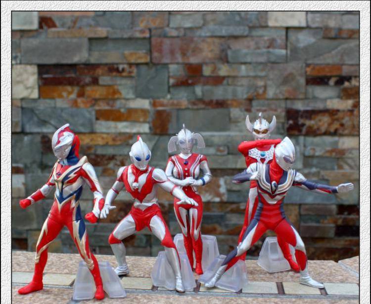 Ultraman Superman Figures12cm Japanese Anime Figures 5Pcs Pvc  Cartoon Toys Figures Anime Hot Toys Kids Gifts Gift<br><br>Aliexpress