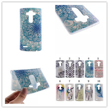 Fashion Cool Ultrathin Coloured Drawing Design TPU Soft Phones Case Cover For LG G3 / G4 Soft Case Mobile Phone Accessories
