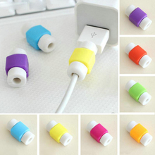 20PCS USB Data Line Saver For Lightning Saver Cable Protector Liberator for iPhone 6 iPhone6 Plus 5 5S 5C SE 4S 7 USB Charger