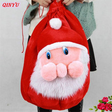 Santa Claus Gifts Bag Christmas Big Gift Bags New Year Gift To Children Christmas Decorations For Home Christmas supplies 7Z