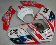 Hot Sales,Customized ABS Fairing Kit For Ducati 1098 848 1198 2007-2011 XEROX Flag Body Motorcycle Fairings (Injection molding)