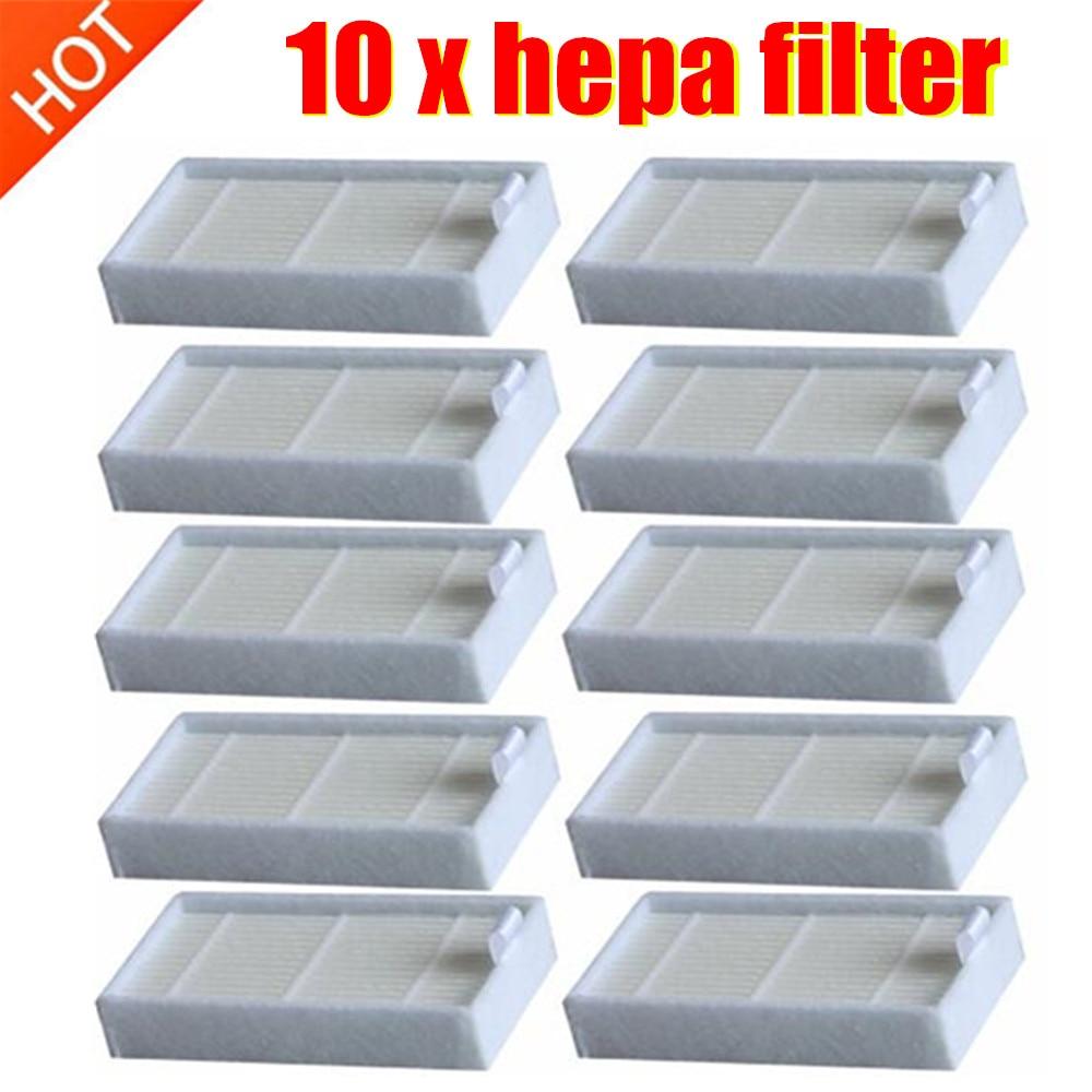 iLife Hepa filter V3 V5  Ecovac filter  CR130 CR120 CEN540 CEN250 10 pack!