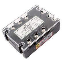 DC3-32V AC480V 25A 3P TN1-325D Solid State Relay w Indicator Light