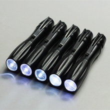 black Medical pen button mini flashlight portable LED light xenon flashlight  outdoor Emergency lighting
