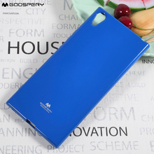 MERCURY GOOSPERY For Sony Xperia XA1 Ultra Case Flash Powder TPU Casing Accessory for Sony Xperia XA1 Ultra - 6.0 inch(China)