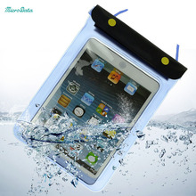 MicroData Universal Waterproof bag pouch Protective Case Cover for i Pad air Mini tablet pc mobile phone for Sony eBook Reader