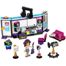 Bela 41103 Pop Star Music Recording Studio Girls Friends Series Building Blocks Toys for Children Compatible With 10403(China)