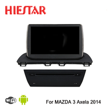 Andriod 7.1/6.0 Car DVD GPS player 9'' touch screen auto navigation mirror link steer wheel control for Mazda 3 Axela 2014