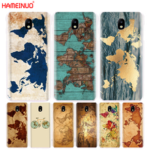 HAMEINUO travel world map vintage cover phone case for Samsung Galaxy J3 J5 J7 2017 J527 J727 J327 J3 Prime J330 J530 J730(China)