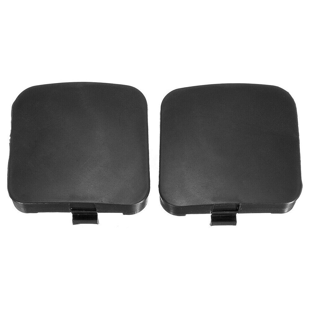 2x Left+Right Rear Bumper Tow Hook Cover Cap 51127158448 51127158447 Fit BMW X5
