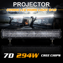 20Inch 294W 22Inch 280W External Car Lights Cree Chips LED Light Bar Daytime Running Lamps For Jeep Hummer SUV 29400LM 28000LM