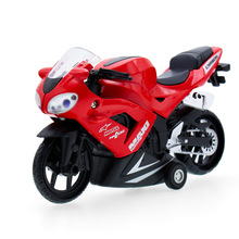 1:32 Motorcycle Vehicle Diecast Alloy Metal Luxury Car Model Collection Model Pull Back Toys Car Gift For Boy(China)