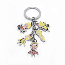 MS0979 1pcs New Naruto Uzumaki Naruto keychain  accessories Bag pendant