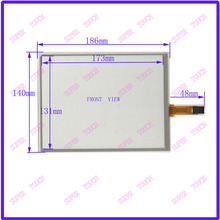 POST 8.4 inch 4-wire resistive Touch Panel   186*140   compatible Navigator TOUCH SCREEN  for  G084SN05 LCD  display