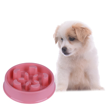 Pets Dog Cat Anti-skid Bottom Feeder Bowl Puppy Kitten Small Pets Feeding Bowls Anti-Choke Health Bowls(China)