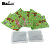 Heat Patch.Body Warmer Stick Lasting Heat Patch Keep Hand Feet Foot Warm Paste Pads Pad Winter necessary 1Bag=2Pcs 12 pcs/lot(China)