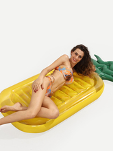 Pineapple Board Floats Adults Kids Pontoon Bed Air Mattress Inflatable Pool Buoy Summer Swimming Water Boat Kickboard Beach Mat(China)