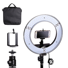EMS Or DHL Photo Studio lighting 180PCS LED Ring Light 5500K Camera Phone Video Light Photography Dimmable Ring Lamp