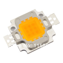 10pcs/lot 10W 900LM LED Chip Bulb IC SMD Lamp Light White High Power Chip (Free Shipping / Quality Assurance 3 years)