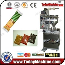 relay Automatic Syrup/honey/jam/ketchup/shampoo Liquid Blister Packing Machine