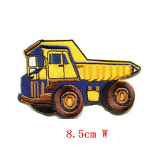 Big cartoon Dump truck dumper old-style tipper lorry Embroidered iron on patch
