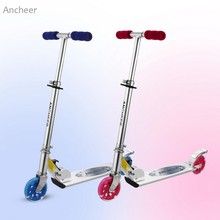 Buy Ancheer Children Kids Foldable Adjustable Height LED 2-Wheel Kick Scooter Foot Scooters for $37.35 in AliExpress store