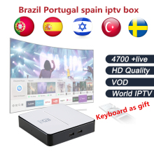 GOTiT GT2017 Android DVB-S2 Satellite TV Box+Brazil iptv Israel yes iptv Sweden Arabic France UK Italy iptv 4700 channels free(China)