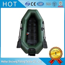 Popular rowing boat SCFD-270 CE inflatable fishing boat with slatted floor