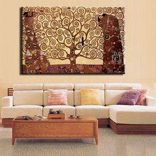 2017 New Special Offer Fallout Huge tree of life by Gustav Print Canvas Wall Art Home Decor Living Room Painting Cheap no frame