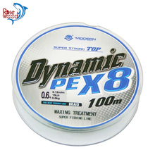 Cheap Braided Fishing Line 8 Strands 100m Linha De Pesca #0.4-#10 8 Strand Pe Braided Fishing Line 8 Fio Fishing Products China(China)
