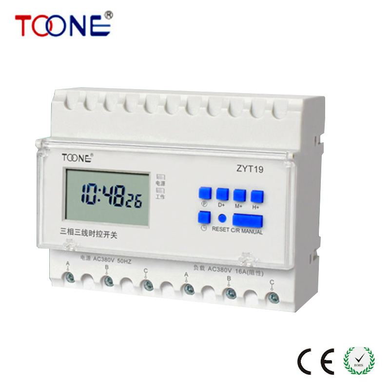 A genuine ZYT19 three-phase pump timing switch aerator timer 380V Fan Control Timer Switch<br>