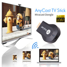 High Definition WiFi Display Miracast Anycast TV Dongle Wireless Connectivity HDMI TV Stick Full HD 1080P Receiver for google(China)