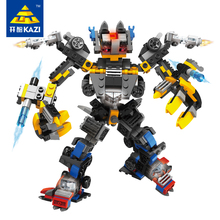 2 1 Robot Transform Car Building Blocks Bricks Kits Sets Assembly Diy Educational Ninjago Juguetes Toys Christmas Kids Gifts - AN Block Store store