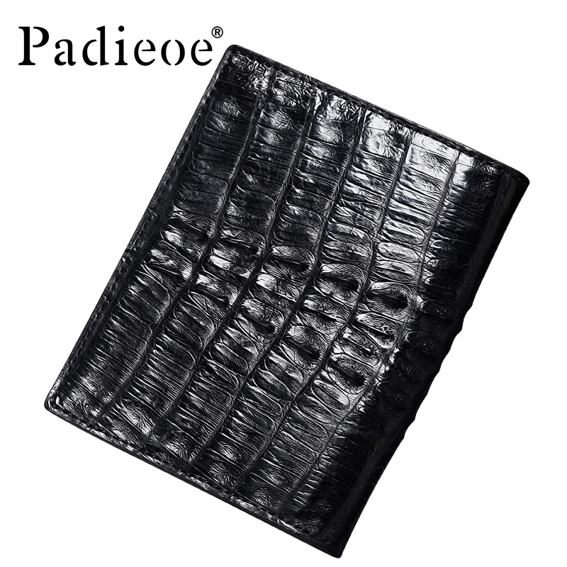 Luxury crocodile skin wallet short wallets business men's clutches fashion wallet men luxury brand leather designer wallet(China (Mainland))