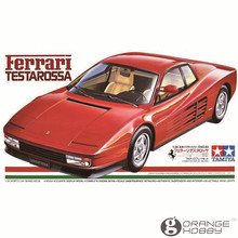 OHS Tamiya 24059 1/24 Testarossa Scale Assembly Car Model Building Kits(China)